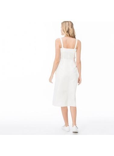 Lacoste Kadın  Elbise EF0901.01A Beyaz